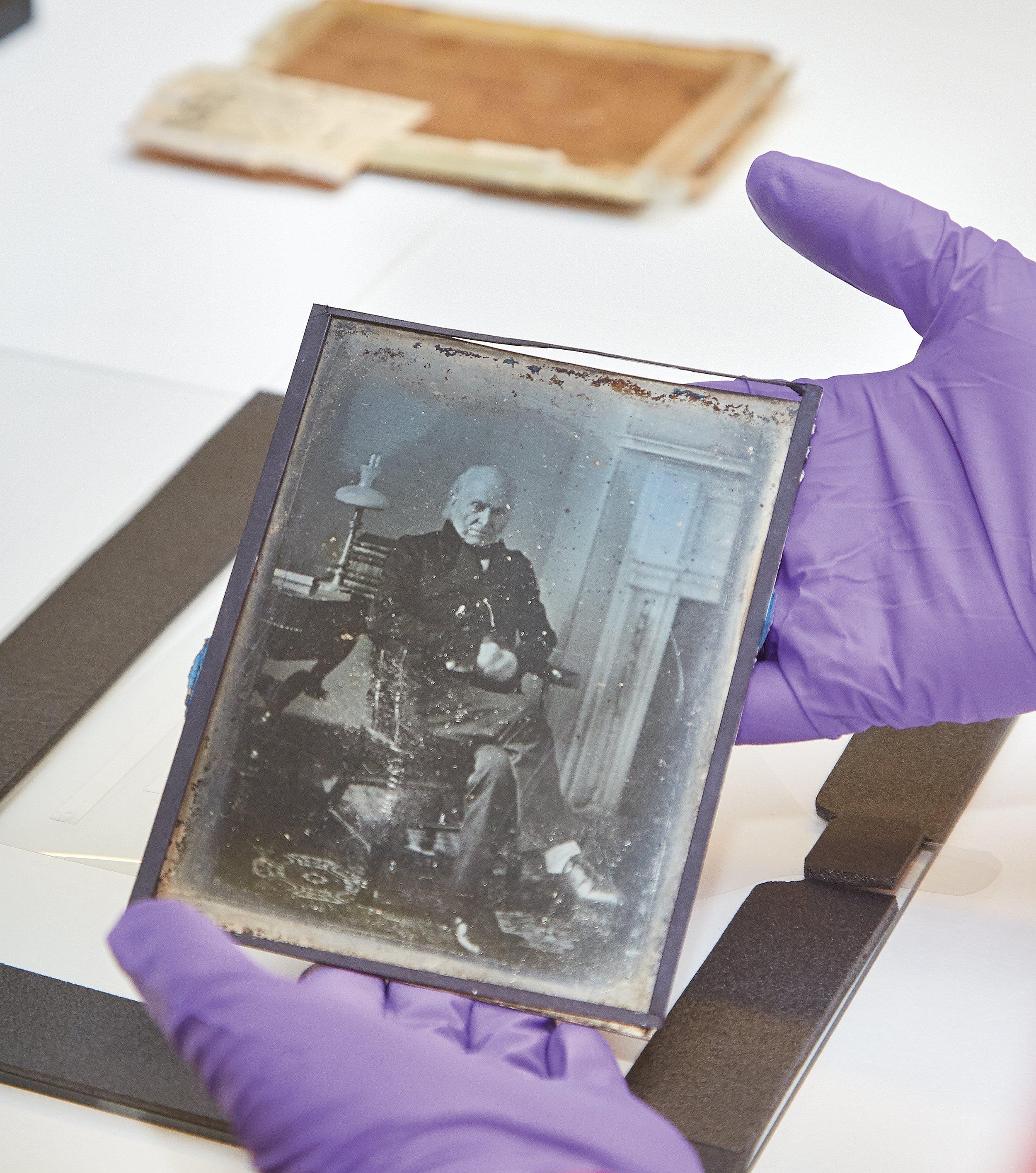 How an Eerie, Ultra-Rare Photo of John Quincy Adams Went ...