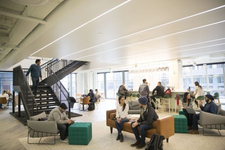 A Sneak Peek at MakeOffices' New Flagship Coworking Space at the Wharf