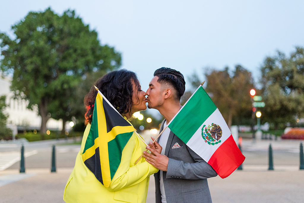 """Prelude to """"A Jamexican Fiesta"""": Jorge And Minette's Playful Engagement Shoot at Oyamel images 22"""