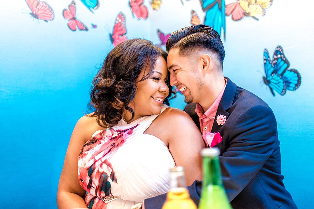 Jorge Galindo Minette Wilson Jamexican fiesta wedding engagement Jamaica and Mexico diversity ball Terri Baskin Photography