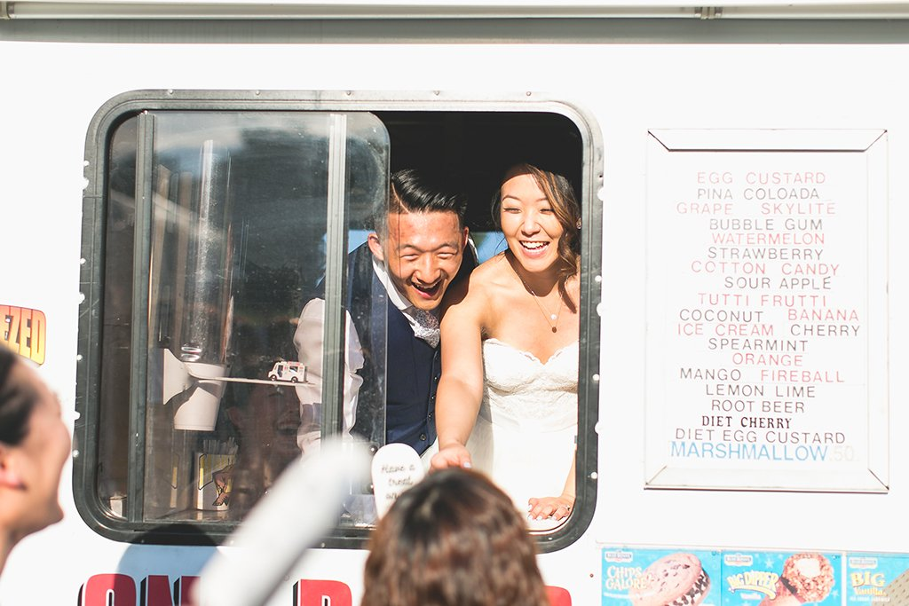 An Ice Cream Truck Made a Sweet Finale for this Scorching Summer Wedding on the Hottest Day of the Year images 15