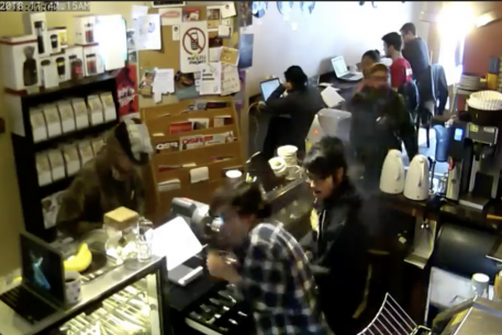 Customer Spits in the Face of a Barista and the Coffee Shop Captures It All on Video
