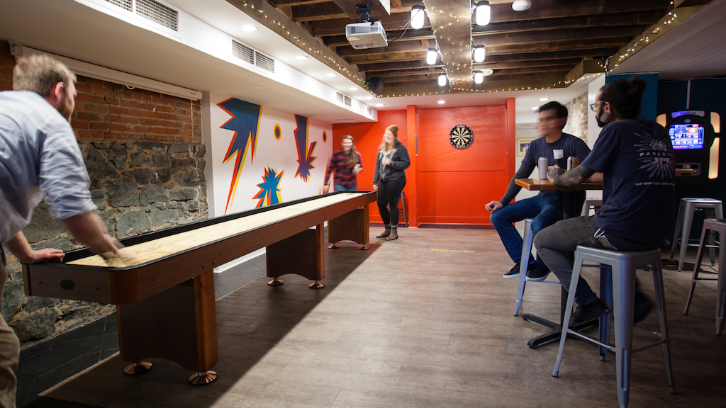 Play Skee-Ball and Pinball in Pizzeria Paradiso's New Game Room