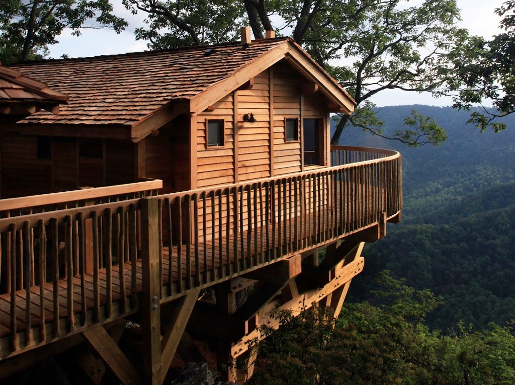 Weekend getaways from DC: Primland treehouses.