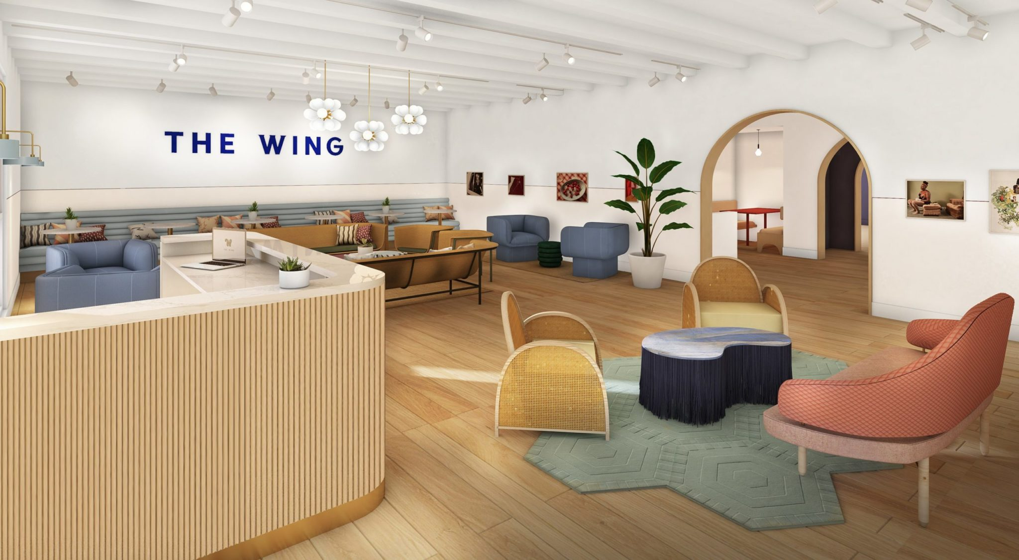A First Look At the Wing, the Ultra-Chic Women's Coworking Space and Social Club Coming to Georgetown