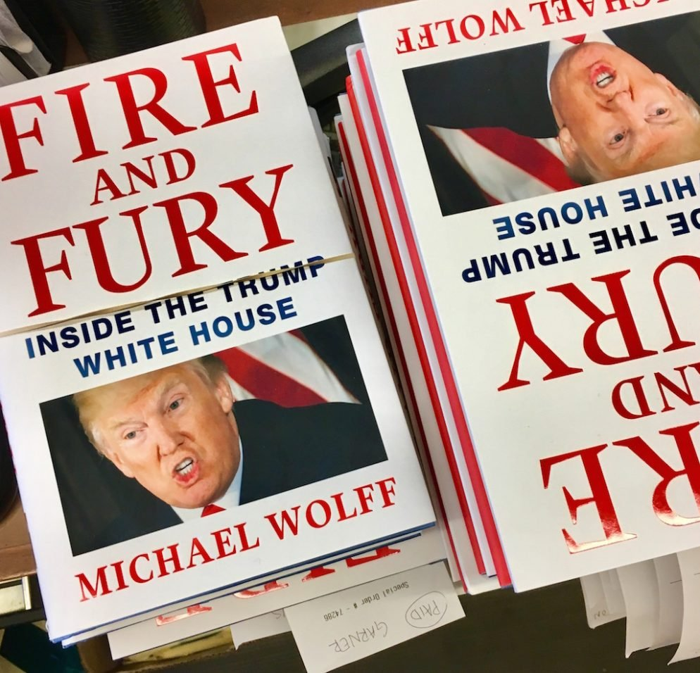 "A ""J.K. Rowling""-Type Scene for Michael Wolff's Book at Politics and Prose"