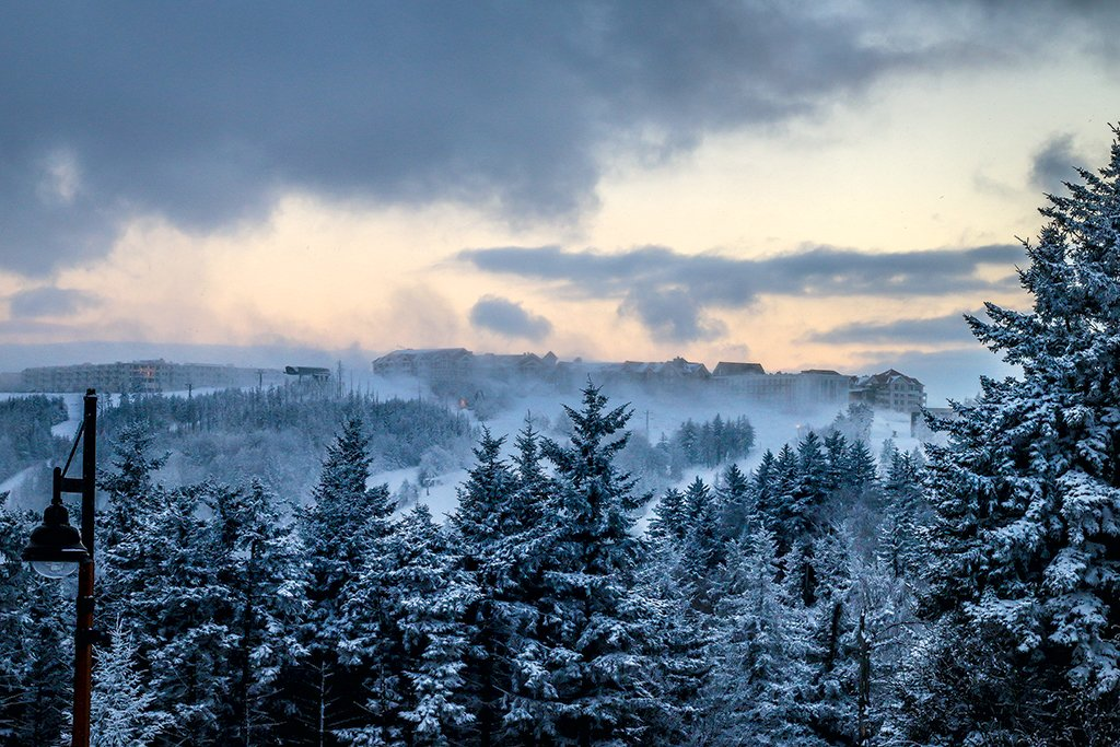Snowshoe is the region's best ski resort. Photograph courtesy of Snowshoe Mountain Resort.
