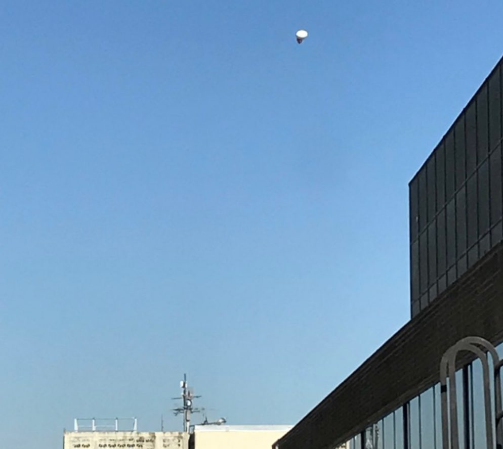 Here's What That Balloon Hovering Over Downtown DC Was Doing
