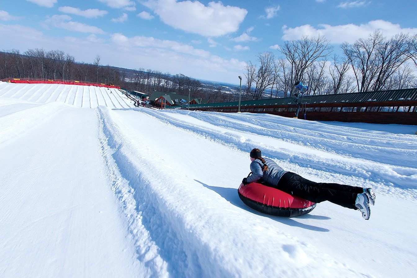 Photograph courtesy of Liberty Mountain Resort.