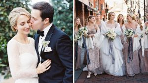 She Campaigned for Jeb, He Worked For Obama: The Playful Political Details at their Four Seasons Wedding Were Perfect