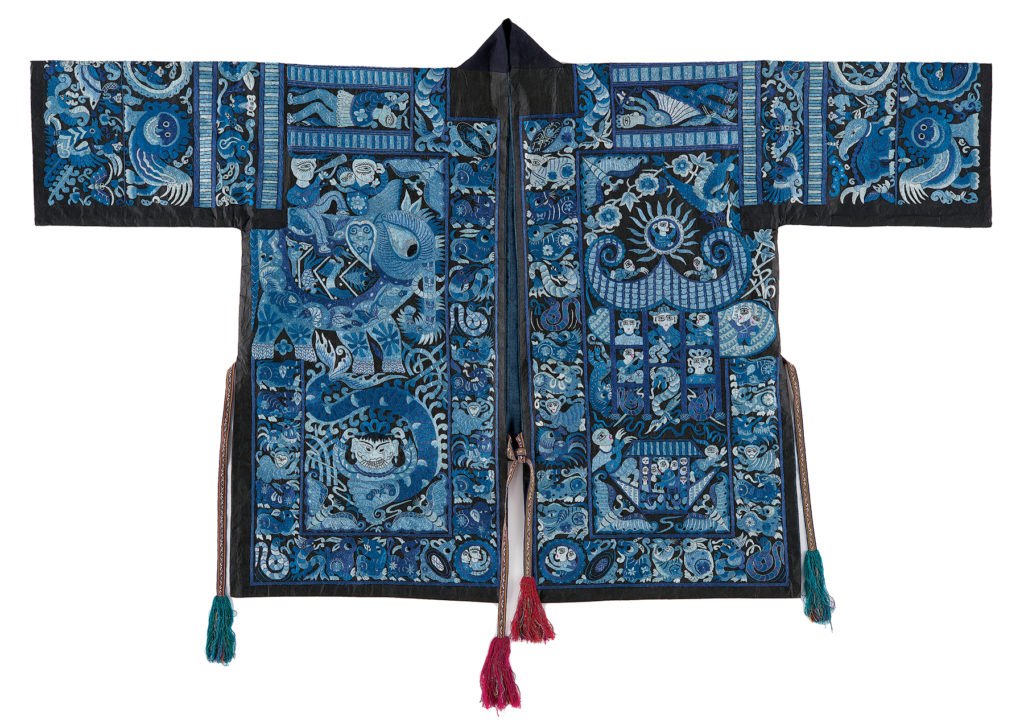 Photograph of Chinese jacket courtesy of Chinese Minority Textiles.
