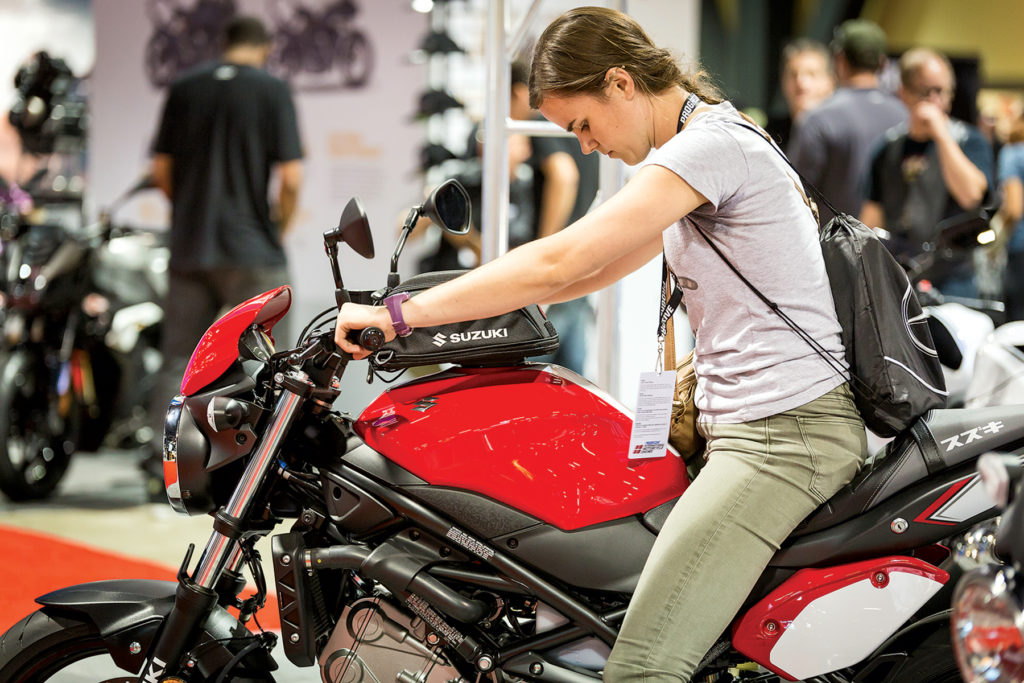 Photograph of Progressive International motorcycle shows By Manny Pandya.