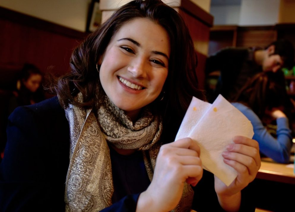 This GW Student Invented a Napkin to Prevent Date Rape