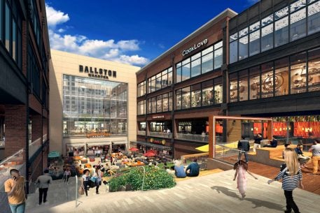 Bowling, Cooking Classes, Karaoke, and More Coming to the Ballston Quarter Development