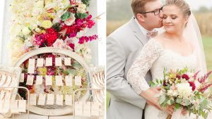 He's an Architect. She's a Designer. Their Virginia Wedding Is Proof That DIY Can Be Remarkably Elegant.