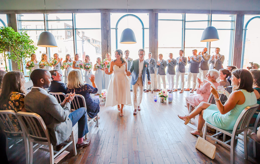 Roofers Union in Adams Morgan Was the Perfect Spot for This Eclectic Dance Party Wedding