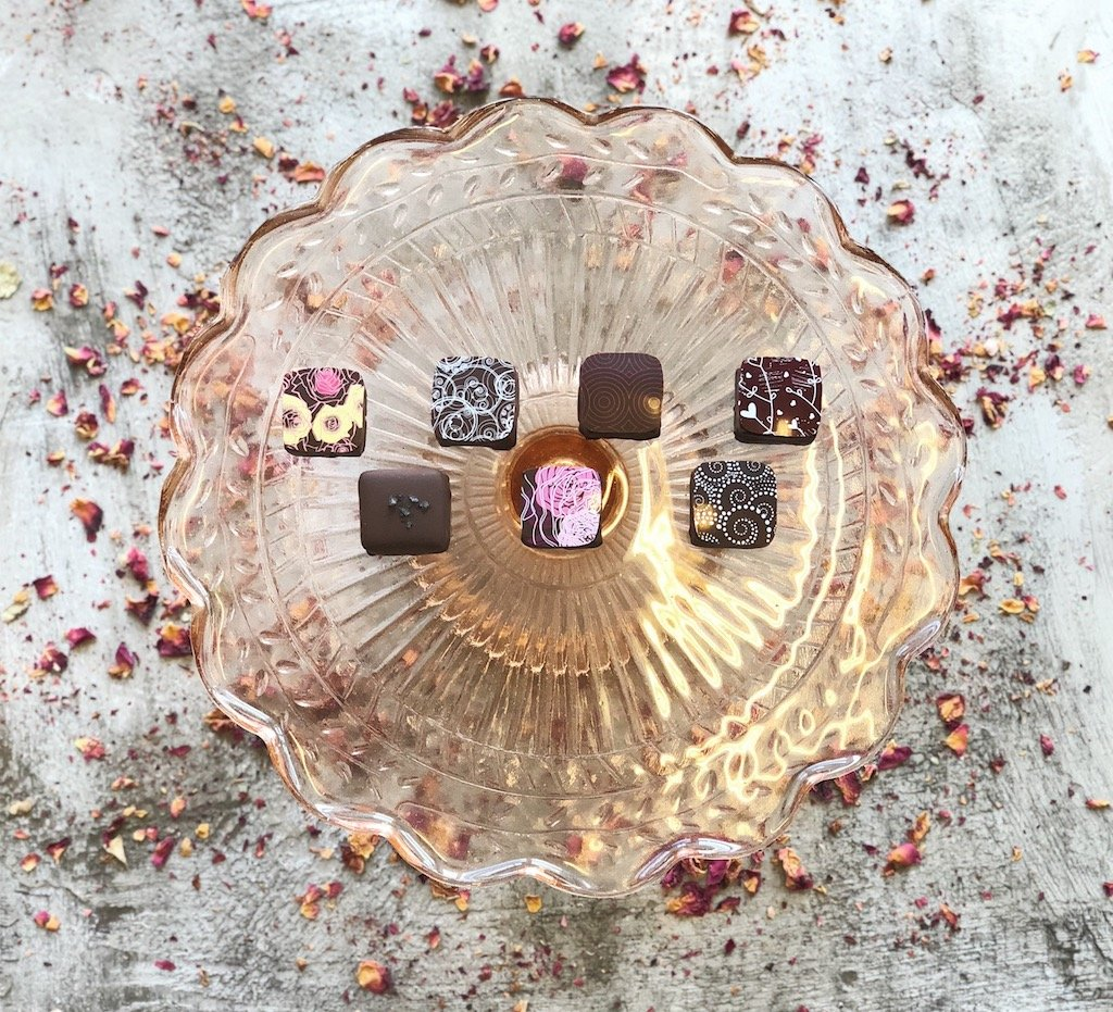 Fleurir Chocolates are as delicious as they are Insta-worthy. Photograph courtesy of Fleurir.