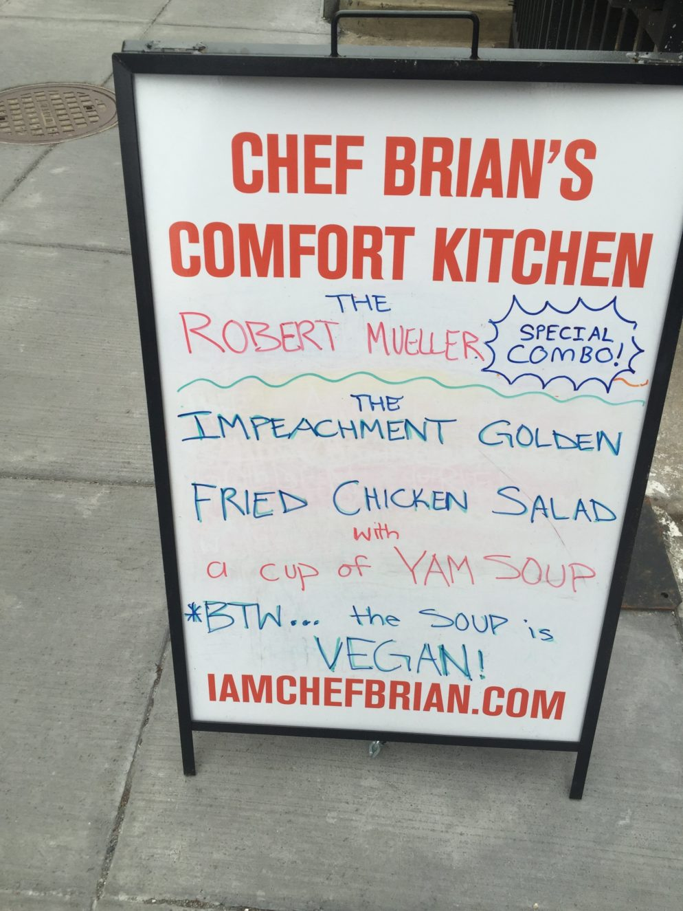 This DC Restaurant Will Offer Politically Themed Specials Until Trump Is Impeached