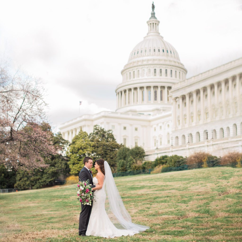 These High School Sweethearts Toured DC Via Uber Before Saying \'I Do\'