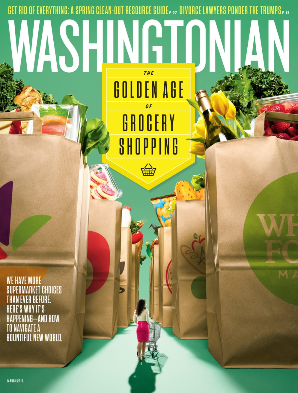 March 2018: The Golden Age of Grocery Shopping | Washingtonian