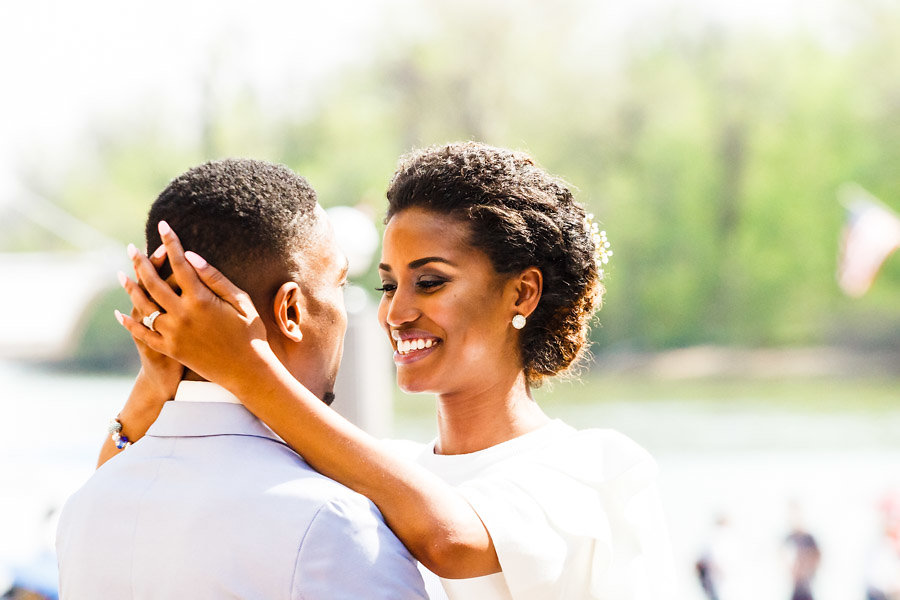 This Couple Eloped, Then Celebrated With Loves Ones With Dinner in Georgetown images 7