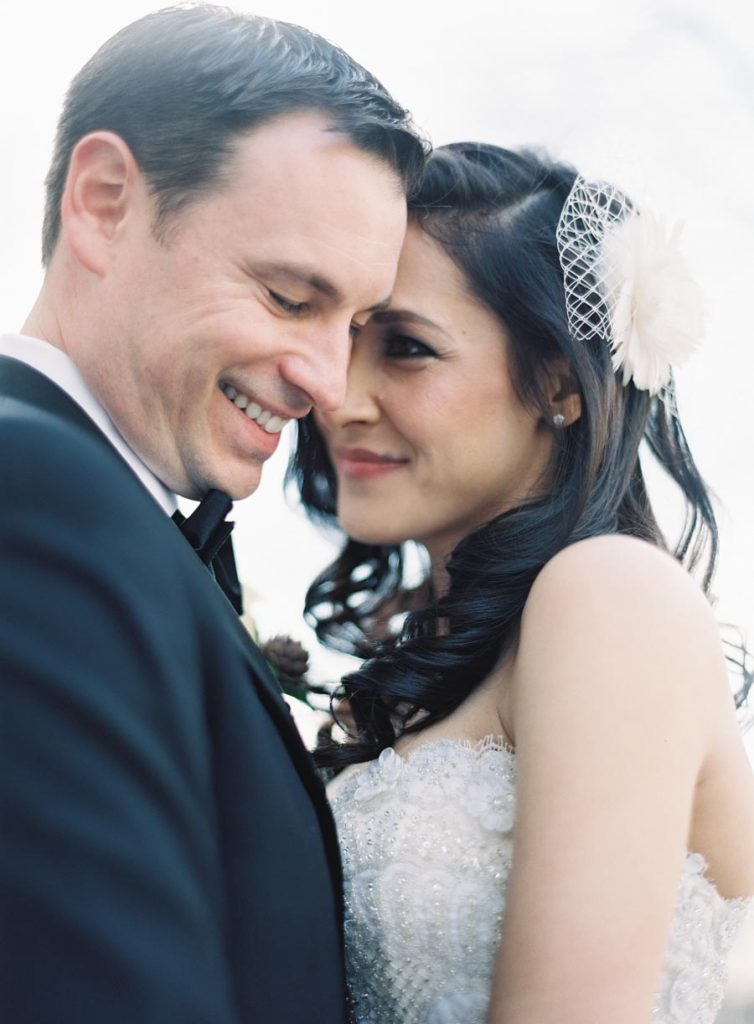 This Black-and-White Wedding Was the Perfect Blend of Vintage and Modern images 24