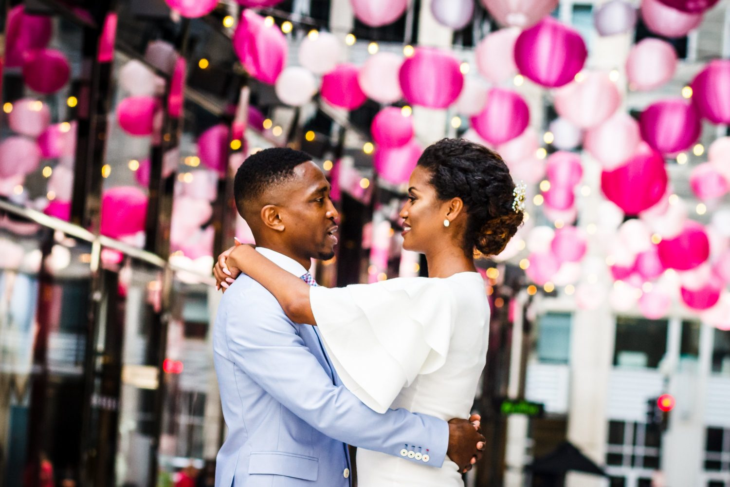 This Couple Eloped, Then Celebrated With Loves Ones With Dinner in Georgetown