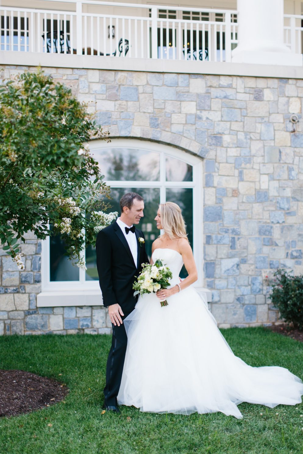 This Golf-Loving Couple Hit a Hole in One with an Elegant Army Navy Country Club Wedding