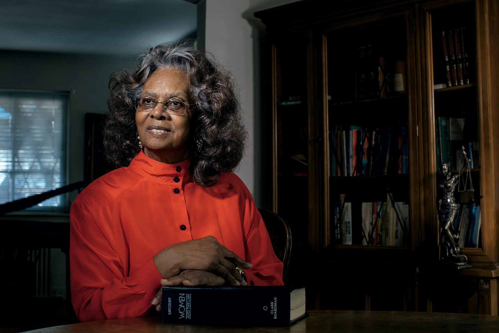 Sandra Bundy fought back against the lewd supervisors at her DC job. Her case helped to establish sexual-harassment protections for women everywhere. Photograph by Lexey Swall.