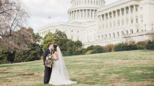 These High School Sweethearts Toured DC Via Uber Before Saying 'I Do'