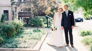 We're Over the Moon for These Two Astronomers' Intimate Wedding at Iron Gate