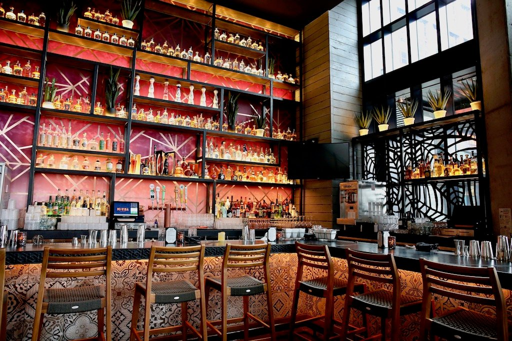 The Ground Floor Bar Pours A Large Selection Of Tequilas Mezcals And Specialty Tails Photograph By Evy Mages