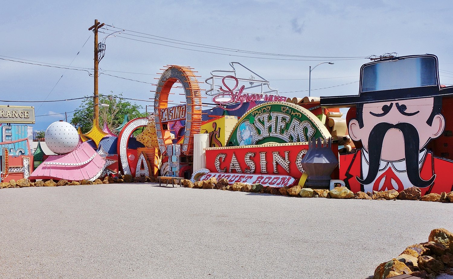 The Neon Museum in Vegas.