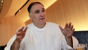 José Andrés Named Humanitarian Of The Year (And He's Writing a Book)