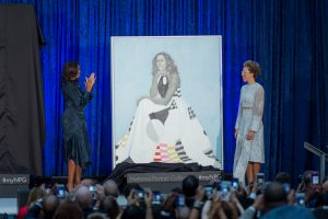 Michelle Obama Dancing With the 2-Year-Old Who Loves Her Portrait Will Give You All the Feels