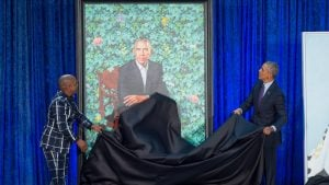 PHOTOS: Obama Portrait Unveiling at the Smithsonian