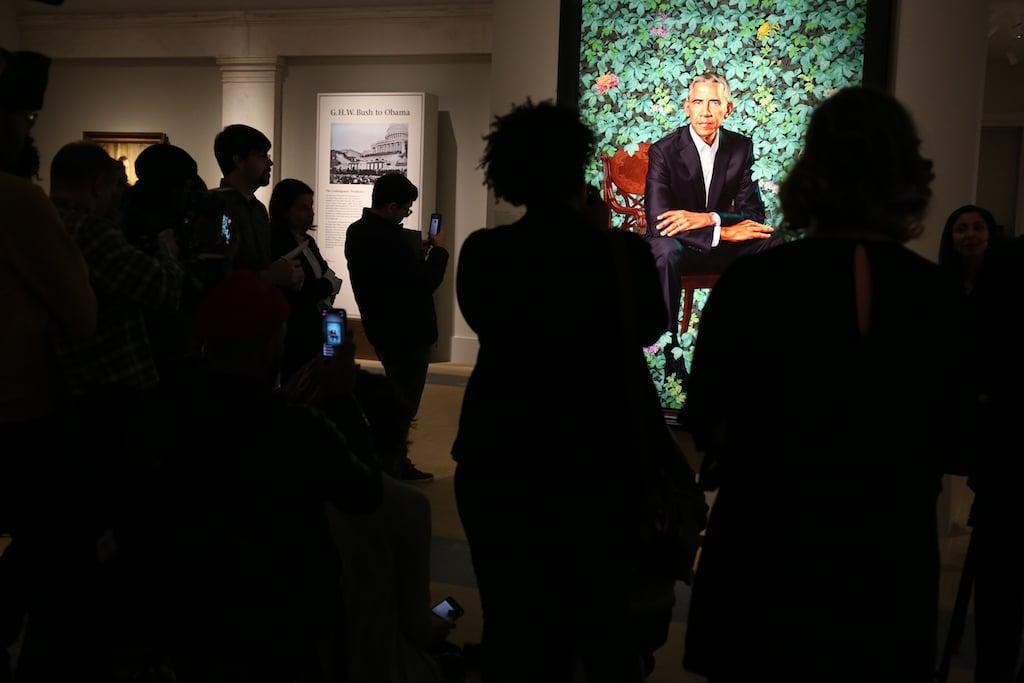 """I Miss Him"": Washington Finally Gets to See the Obama Portraits"