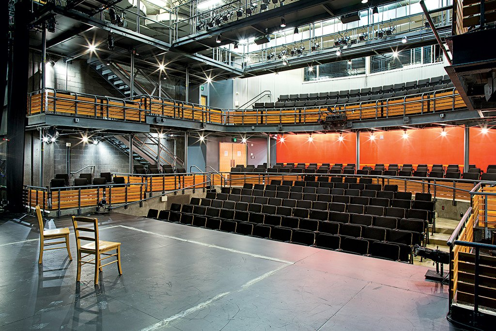 Woolly Mammoth's performance space. Photograph Courtesy of Woolly Mammoth Theatre Company.