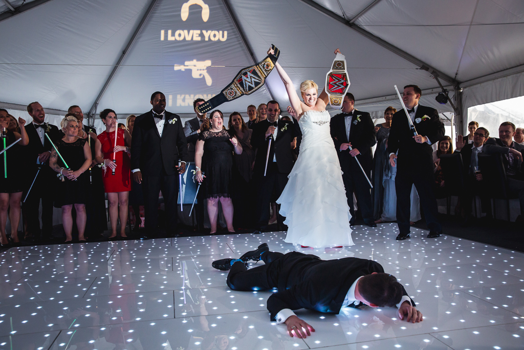 Star Wars Wedding.The Force Was Strong At This Star Wars Themed Wedding In