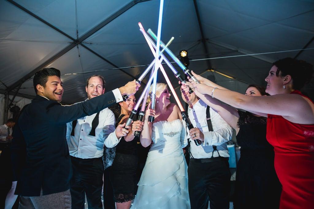 Auguri Matrimonio Star Wars : Star wars le foto di un incredibile matrimonio a tema guerre stellari