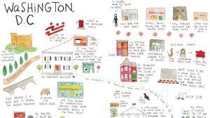 Illustrator Mari Andrew Shares Her Favorite DC Spots