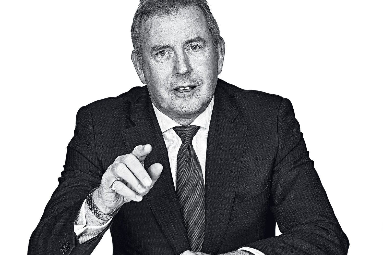 Photograph of Sir Kim Darroch by Jeff Elkins.