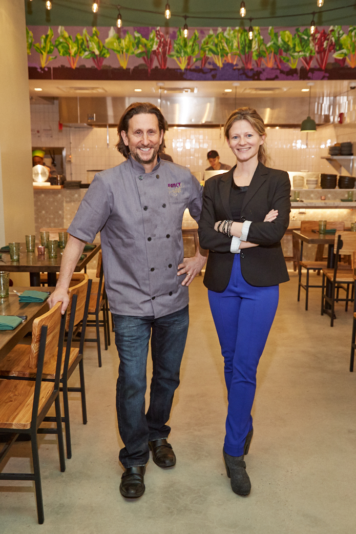 Chef Richard Landau and Kate Jacoby of Philadelphia's Vedge and Fancy Radish.