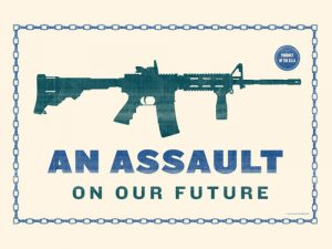 The Artist Behind Obama's 'Hope' Portrait Just Released A Series of Free Posters in Support of Gun Reform