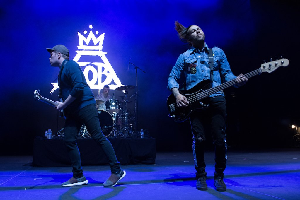 Fall Out Boy performs at Stay Amped.