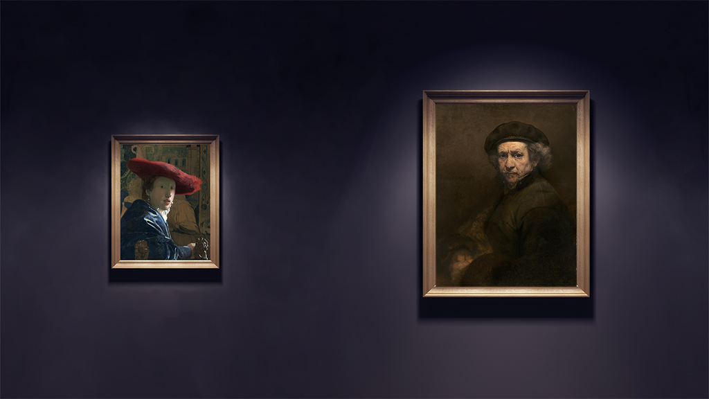 Photographs of paintings courtesy of National Gallery of Art.