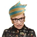 Photograph of Ginsburg by Larry Downing/Newsweek.
