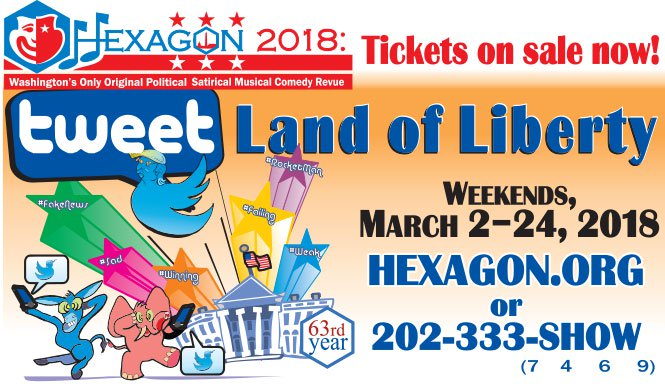 Hexagon 2018: Tweet Land of Liberty