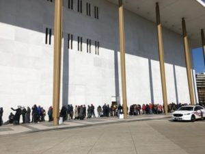 Washingtonians Lined Up Like Crazy to Get Hamilton Tickets at the Kennedy Center