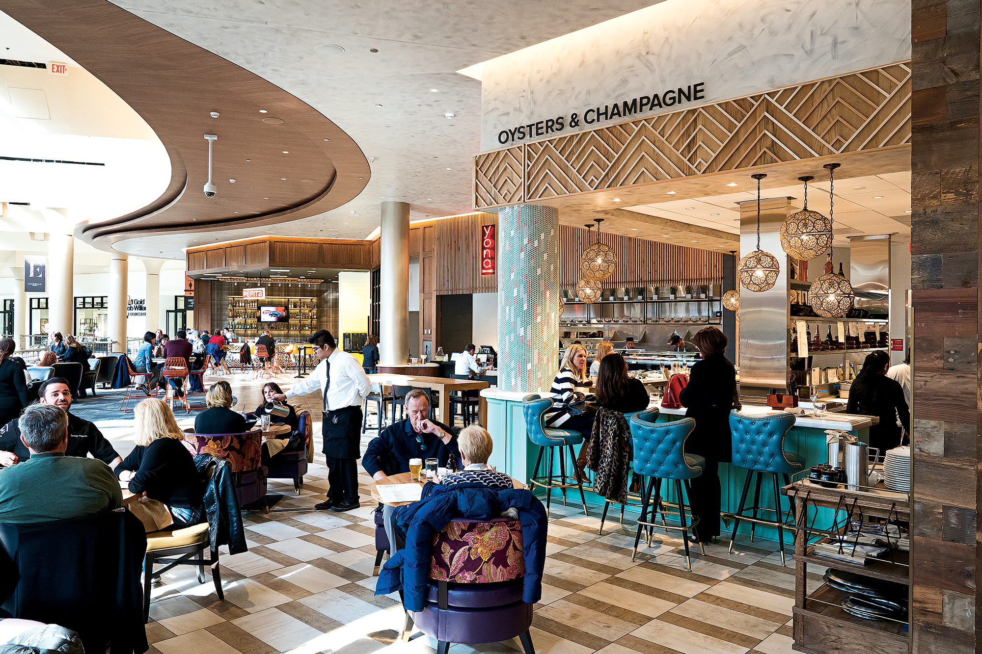 Mike Isabella debuts sprawling Isabella Eatery at Tysons Galleria.
